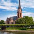 Driekoenigskirche in Frankfurt, Germany — Stock Photo #32812547