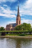 The Driekoenigskirche in Frankfurt, Germany — Stock Photo