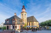 Hauptwache and St. Catherine's Church. — Stock Photo