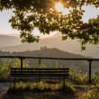 Landscape with bench — Stock Photo #34074421