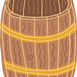 Illustration of Barrel — Vettoriali Stock