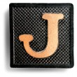 Photograph of Game Tile Letter J — Zdjęcie stockowe