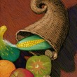 Stock Photo: Illustration of Cornucopia