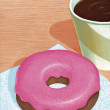 Stock Photo: Illustration of Donut
