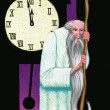 Illustration of Fathr Time — Stock Photo