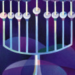 Illustration of Hanukkah — Stock Photo