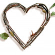 Natural Twig and Stick Heart — Stock Photo #29373865