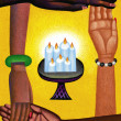 Illustration of Kwanzaa — Stock Photo