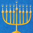 Illustration of Menorah — Stock Photo #29375113