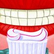 Illustration of Oral Care — Stock Photo