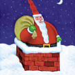 Illustration of Santa Claus — Stock Photo