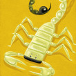 Illustration of Scorpion — 图库照片
