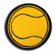 School Sports Tennis Patch — Stok fotoğraf