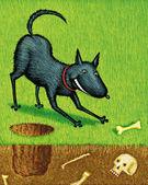 Illustration of Doggie — Stock Photo