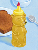 Illustration of Honey — Stock Photo