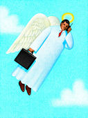 Illustration of Heaven Sent — Stock Photo