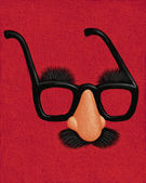 Illustration of Nose and Glasses — Stock Photo