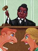 Illustration of Judge — Stock Photo