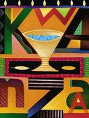 Illustration of Kwanzaa — Stock Photo