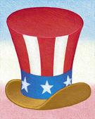Illustration of Uncle Sam Hat — Stock Photo