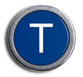 Photograph of Old Typewriter Key Cent Sign — Stock Photo