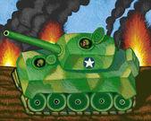 Illustration of Tank — Stock Photo