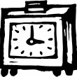 Vector illustration of Alarm Clock — Vettoriali Stock