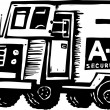 Armored Truck — Stock Vector