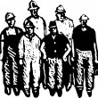Постер, плакат: Crew of Workmen