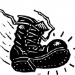 Vector Illustration of Boot — Stock Vector