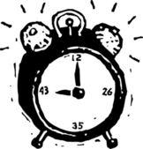 Biological Clock — Stock Vector