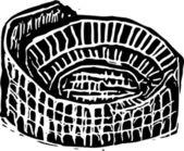 Vector Illustration of Colosseum — Stock Vector