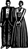 Woodcut illustration of Formal — Vetorial Stock