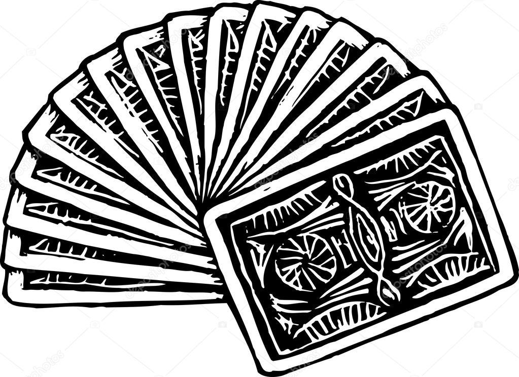 карты колода рисунок