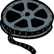 Stock Vector: Film Reel