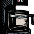 Coffee Maker — Stock Vector