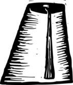 Vektor illustration av fez hatt — Stockvektor