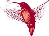 Illustration of Hummingbird — Stock Vector