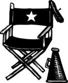 Direktör stol — Stockvektor