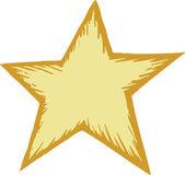 Illustrazione della stella — Vettoriale Stock