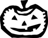 Ikona ilustracja Jack o ' Lantern — Wektor stockowy