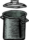 Abbildung wasserkocher — Stockvektor