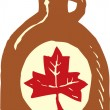 Stock Vector: Maple Syrup