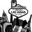 Vector de stock : Las Vegas