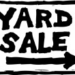 Vector Illustration of Yard Sale Sign — Stock Vector