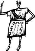 Vector Illustration of Roman — Stock Vector