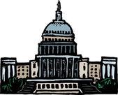 Capitol Building — Stock Vector