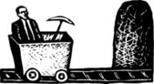 Salt Mines — Wektor stockowy