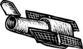 Hubble Telescope — Stock Vector