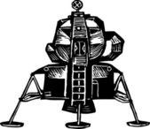 Lunar Excursion Module — Stock Vector